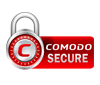 Checkout Secured with Comodo
