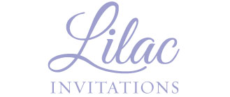 Lilac Invitations Logo